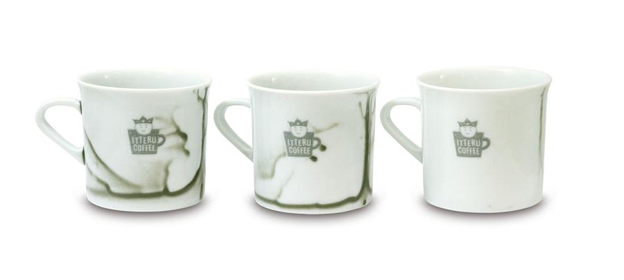 コーヒーがおいしくなる森修焼のオリジナルカップ